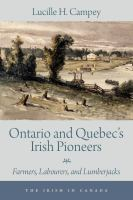 Ontario and Quebec's Irish Pioneers