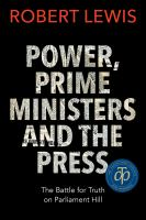 Image: Power, Prime Ministers, and the Press