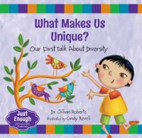 What makes us unique? : our first talk about diversity