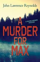 A Murder for Max