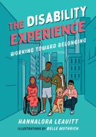 The disability experience : working toward belongingpages cm
