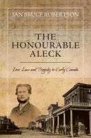 The Honourable Aleck