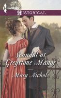 Scandal at Greystone Manor