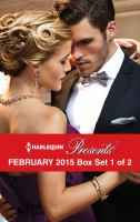 Harlequin Presents February 2015 - Box Set 1 of 2: Delucca's Marriage Contract\the Redemption of Darius Sterne\to Wear His Ring Again\the Man to Be Reckoned With