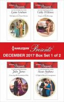 Harlequin Presents December 2017--Box Set 1 of 2