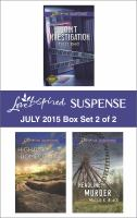 Love Inspired Suspense July 2015. Box Set 2 of 2