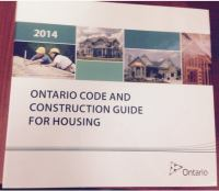 Ontario Code and Construction Guide for Housing