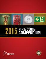 2015 Fire Code Compendium