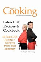 Paleo Diet Recipes & Cookbook