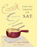 Cook your Way Through the S.A.T