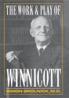 Work and Play of Winnicott