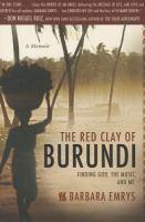 The Red Clay of Burundi