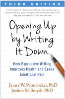 Opening up by Writing It Down