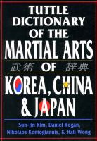 Tuttle Dictionary of the Martial Arts of Korea, China & Japan