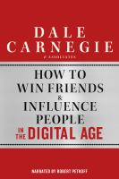 How to Win Friends & Influence People in the Digital Age