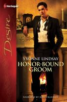 Honor-bound Groom