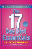 The 17 Day Diet Essentials