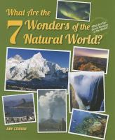 What Are the 7 Wonders of the Natural World?