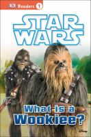 Star Wars. What is a Wookiee?