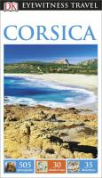 DK Eyewitness Travel Corsica