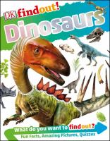 Cover of Dinosaurs (DK Findout!)