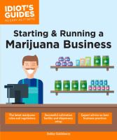 Starting and Running A Marijuana Business