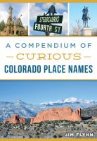 A Compendium of Curious Colorado Place Names