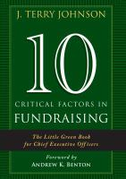 10 Critical Factors in Fundraising