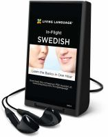 In-flight Swedish
