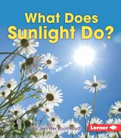 What Does Sunlight Do?