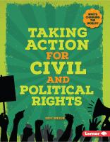 Taking Action for Civil and Political Rights