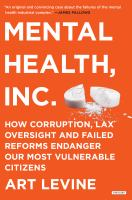 Mental Health, Inc
