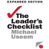 The Leader's Checklist