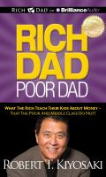 RICH DAD POOR DAD [audiobook Cd]