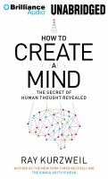 How to create a mind the secret of human thought revealed