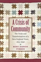 A Crisis of Community