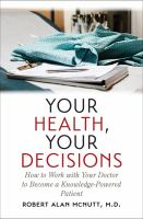 Your Health, your Decisions