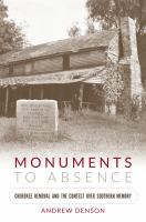 Monuments to Absence