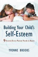 Building your Child's Self Esteem