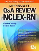 Lippincott Q & A Review for NCLEX-RN