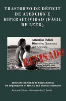 Trastorno de déficit de atención e hiperactividad (fácil de leer)