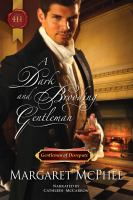 A Dark and Brooding Gentleman