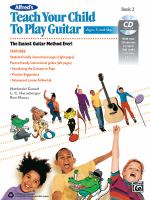 Alfred's Teach your Child to Play Guitar