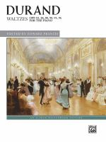 Waltzes, opp. 83, 86, 88, 90, 91, 96, for the piano