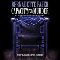 Capacity for Murder