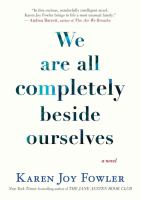 We Are All Completely Beside Ourselves(Unabridged 1 CD)