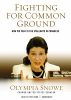 FIGHTING FOR COMMON GROUND [book on CD]