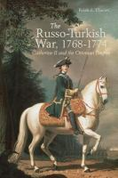 The Russo-Turkish War, 1768-1774