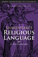 Shakespeare's Religious Language