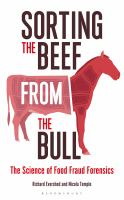 Image: Sorting the Beef From the Bull : The Science of Food Fraud Forensics